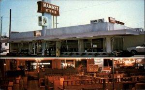 Myrtle Beach SC Mammy's Kitchen 1970s Roadside Postcard