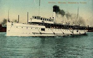 Canada - Steamer Macassa