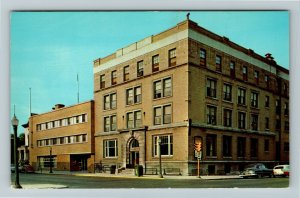 Richmond IN- Indiana, Young Men's Christian Association, Chrome Postcard