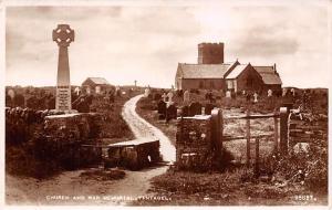 Church and War Memorial Cemetery Eglise Tintagel