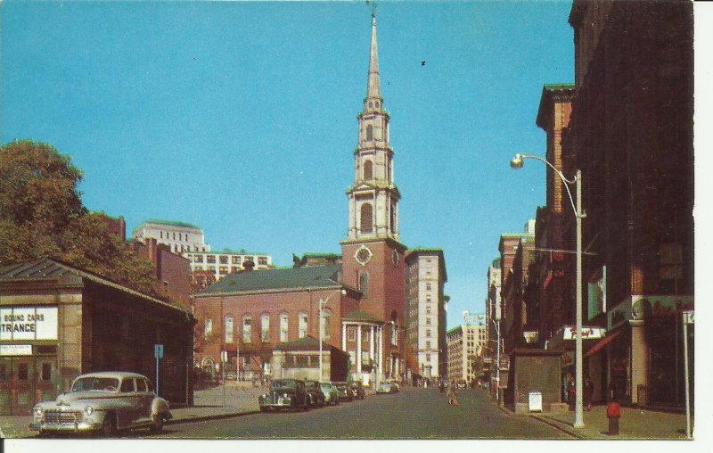 Park Street Church, Boston, Mass