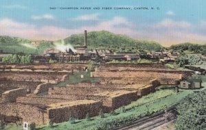 CANTON , North Carolina , 1930-40s ; Lumber Yard