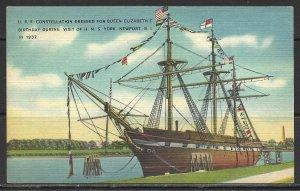 Rhode Island, Newport - U.S.S. Constitution - [RI-025]