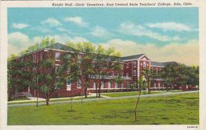 Knight Hall, Girls' Dormitory, East Central State Teachers' College, Ada,Okla...