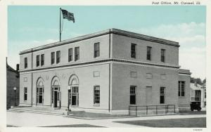 MT. CARMEL , Illinois , 1910s ;  Post Office