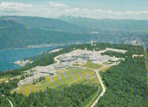 Canada British Columbia North Burnaby Simon Fraser University Aerial View