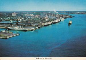 Port , HALIFAX , Nova Scotia , Canada , PU-1975