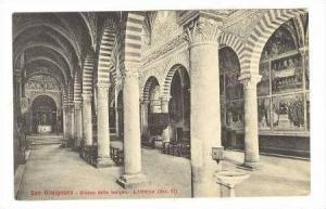 SAN GIMIGNANO, Italy, 00-10s Chiesa della Insigne- L'Interno