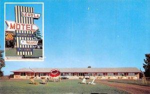 Angola Motel New York Postcard