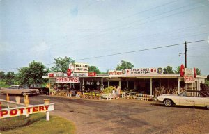 Bald Knob Arkansas Wallace Fruit Market & Souvenirs vintage pc BB234