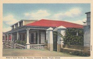 Charlotte Amalie , Virgin Islands , 1930-40s ; Miller's Guest House