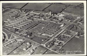 bucks, AYLESBURY, Stoke Mandeville Hospital (1962) RPPC