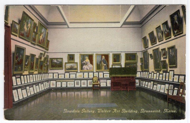 Brunswick, Maine, Bowdoin Gallery, Walker Art Building