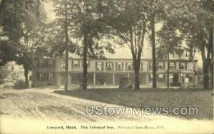 The Colonial Inn Concord MA Unused