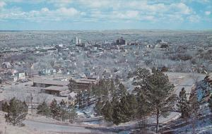 Aerial View, RAPID CITY, South Dakota, 40-60's