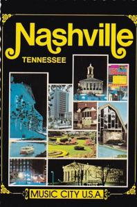Tennessee Nashville Tennessees Music City U S A