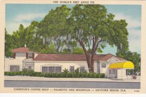 The World's Best Apple Pie, Johnston's Coffee Shop Palmetto and Magnolia, DAY...