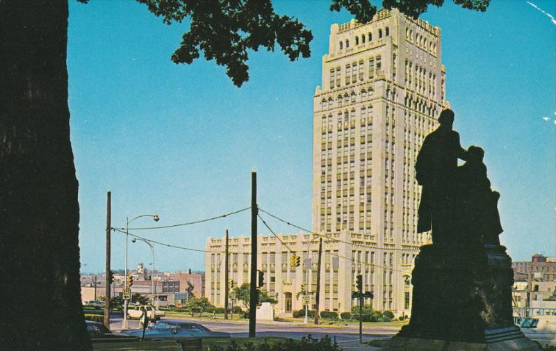 City Hall , ATLANTA , Georgia , 50-60s