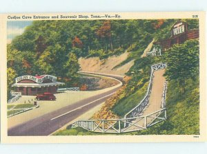 Linen STATE LINE SOUVENIR SHOP Cumberland Gap - Harrogate & Arthur TN AF3297-12