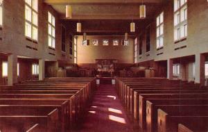 Kalamazoo Michigan~Kanley Memorial Chapel Western Michigan College~1960 PC