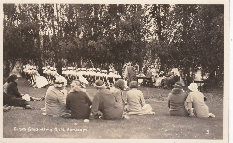 RP: KAMLOOPS, British Columbia, Canada, 00-10s; Nurses Graduation R.I.H.