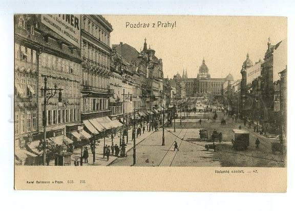 129769 Czech Republic Greetings PRAGUE Signboards B. STYBLO