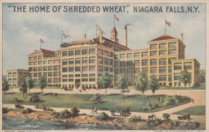 NIAGARA FALLS , New York , 1900-10s ; Home of Shredded Wheat