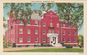 Massachusetts Wareham Tobey Hospital