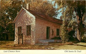 Last Chance Store Santa Fe Trail Council Grove Kansas KS Postcard