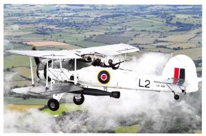 Postcard A Swordfish Aircraft with the Royal Navy Historic Flight in 2012 V48