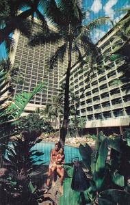 Hawaii Honolulu The Sheraton Princess Kaiulani Hotel With Pool
