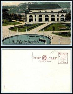 WEST VIRGINIA Postcard - Chester, Rock Springs Park Dance Pavilion K47