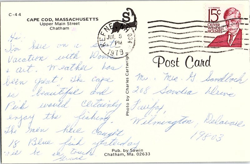 Chrome SHOPS SCENE Cape Cod - Chatham Massachusetts MA AH9240