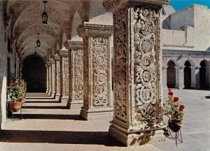 Peru Arequipa Claustros del Antiguo Convento de la Compania de Jesus