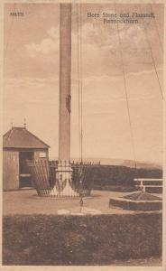 Bannockburn Old Bore Stone Flagstaff  Antique Postcard