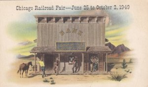 CHICAGO, Illinois,1949 Chicago Railroad Fair, Continental Illinois National Bank