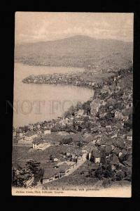 046060 SWITZERLAND Montreux vue generale Vintage PC