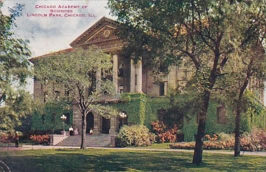 Chicago Academy Of Sciences Lincoln Park Chicago Illinois 1912