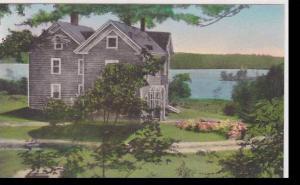 Maine Medomak Mayfair House Albertype