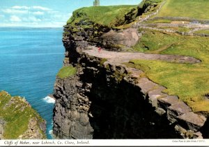 Ireland Co Clare Cliffs Of Moher Near Lahinch