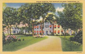 Shrine Hospital for Crippled Children , Shreveport , Louisiana , PU-1946