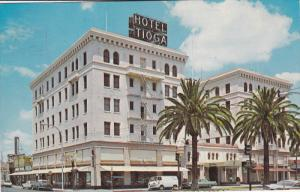 Hotel Tioga, MERCED, California, 40-60's