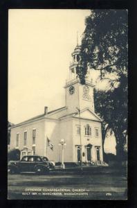 Manchester, Massachusetts/MA/Mass Postcard, Orthodox Congregational Church