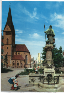Post Card Stuttgart Germany   Leonhardskirche