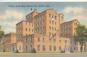 Ohio ToledoY M C A Building Jefferson Ave