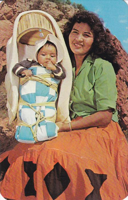 Indian Mother & Papoose , 50-60s