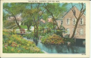 Cape Cod, Mass., Sandwich, The Old Mill