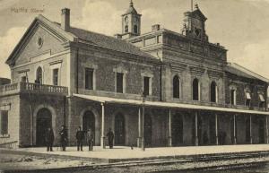 israel palestine, HAIFA, Railway Station (1918) Otto Fischer