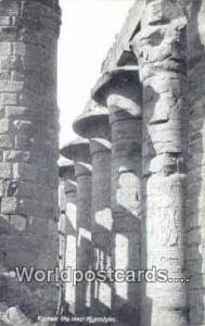 Eqypt Karnak the innci Hypostyles  Karnak the innci Hypostyles