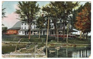 Lake Cobbosseecontee, Me, Lake House